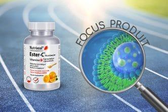 Focus produit sur l'Ester-C phytocomplex liposomale Zetagreen